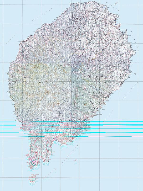 maps of sao tome and principe. Map of São Tomé